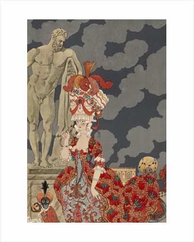 Cortège by George Barbier
