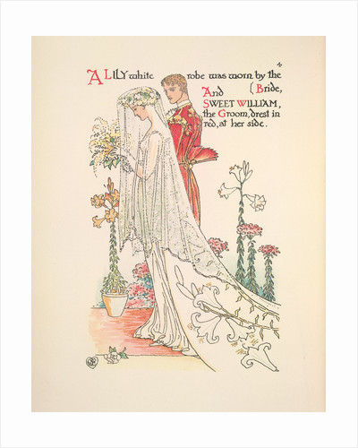 A Flower Wedding by Walter Crane