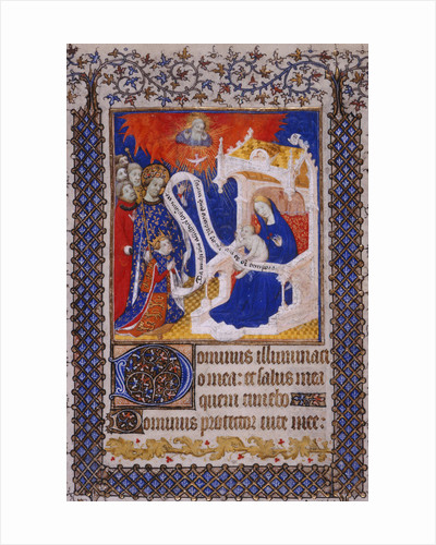Henry VI presented by St Louis to the Virgin and Child by Anonymous