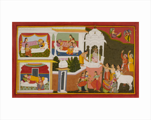 The birth of Rama by Manohar