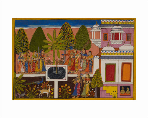 Rama and Sita are united in marital happiness by Anonymous