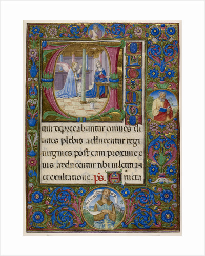 Missal of Cardinal Domenico della Rovere by Anonymous