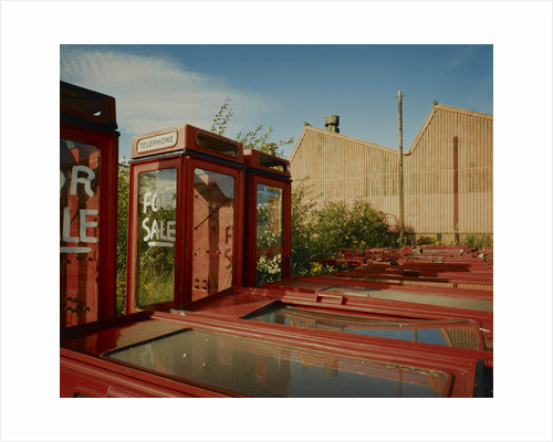 Telephone kiosks for sale by Fay Godwin