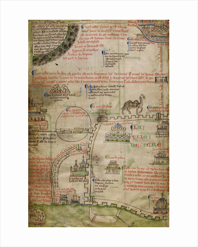 The Acre map of Matthew Paris by Matthew Paris