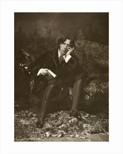 Portrait of Oscar Wilde by Napoleon Sarony