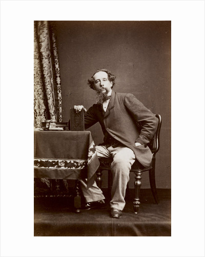 Portrait of Charles Dickens, 1861 by Watkins Studio