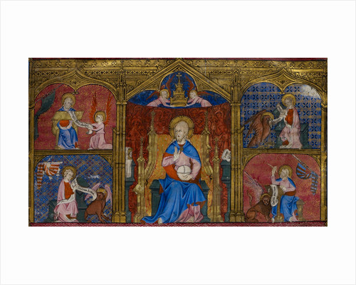 God and the four Evangelists by Anonymous