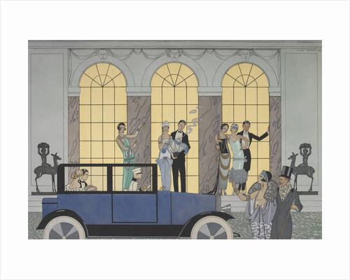 Au revoir by George Barbier