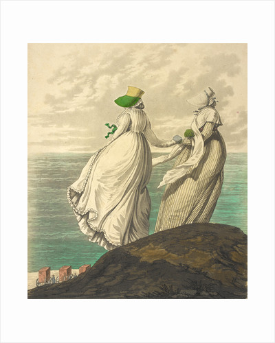 Two ladies by the sea by Anonymous