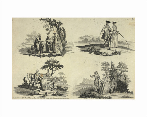Scenes in the countryside by Anonymous