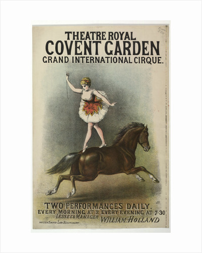 Grand International Cirque at the Theatre Royal by Anonymous