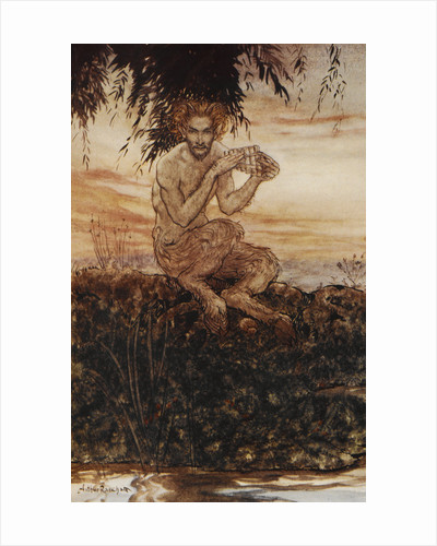 Pan the Friend and Helper by Arthur Rackham