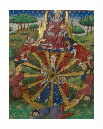The wheel of fortune by Anonymous