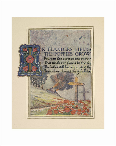 In Flanders fields by Ernest Clegg
