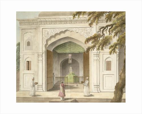 Mausoleum of Hafiz Rahmat Khan by Sita Ram