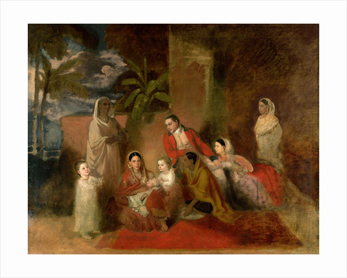The Palmer family by Johann Zoffany