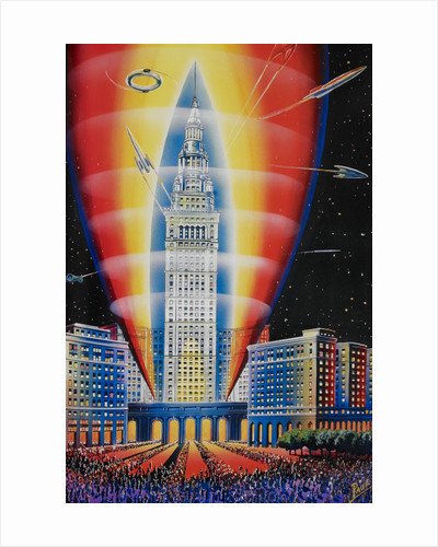 The Rocket Building by Frank R Paul