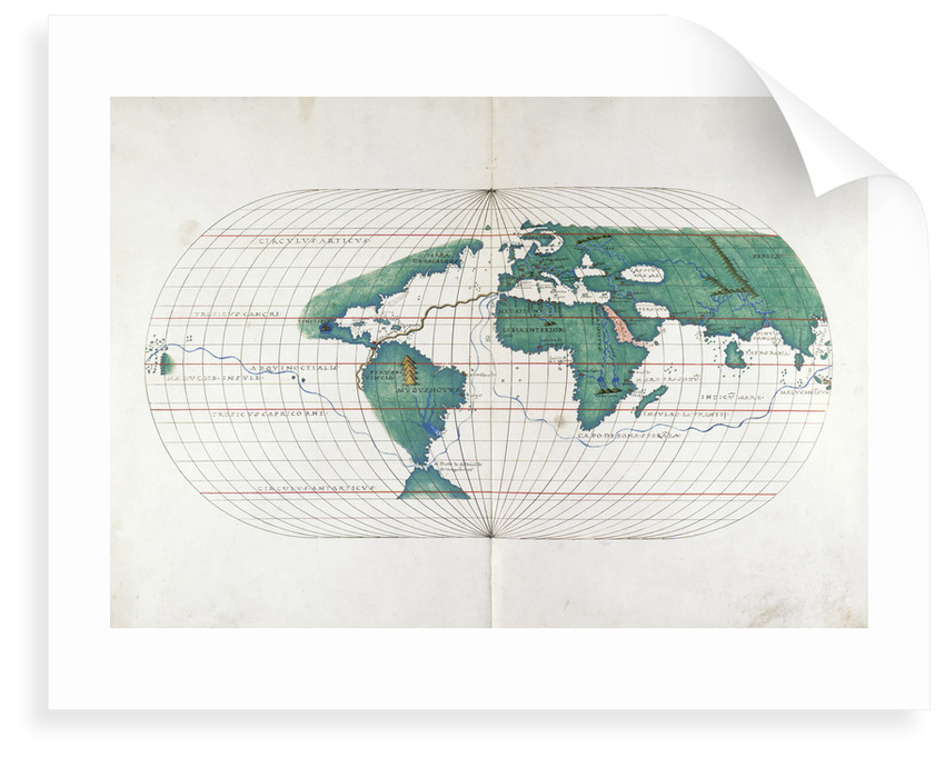 World Map by B Agnese
