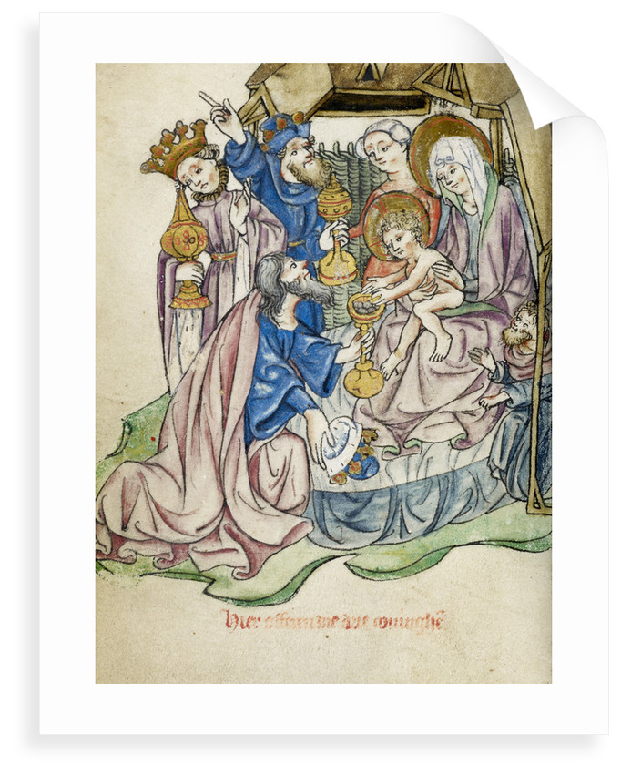 Adoration of the Magi by Workshop of the Master of the Morgan Infancy Cycle