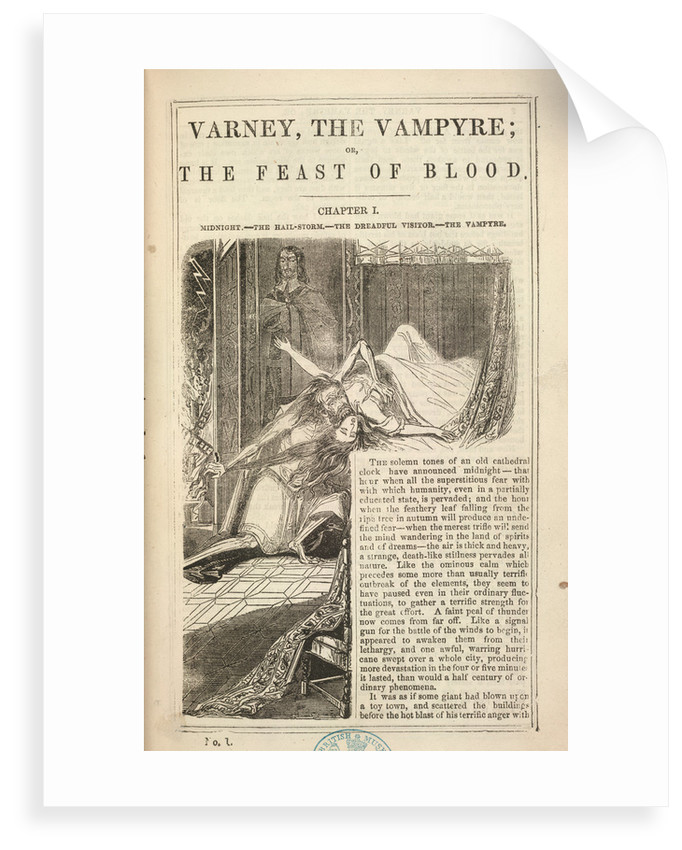 Varney the Vampyre by Anonymous