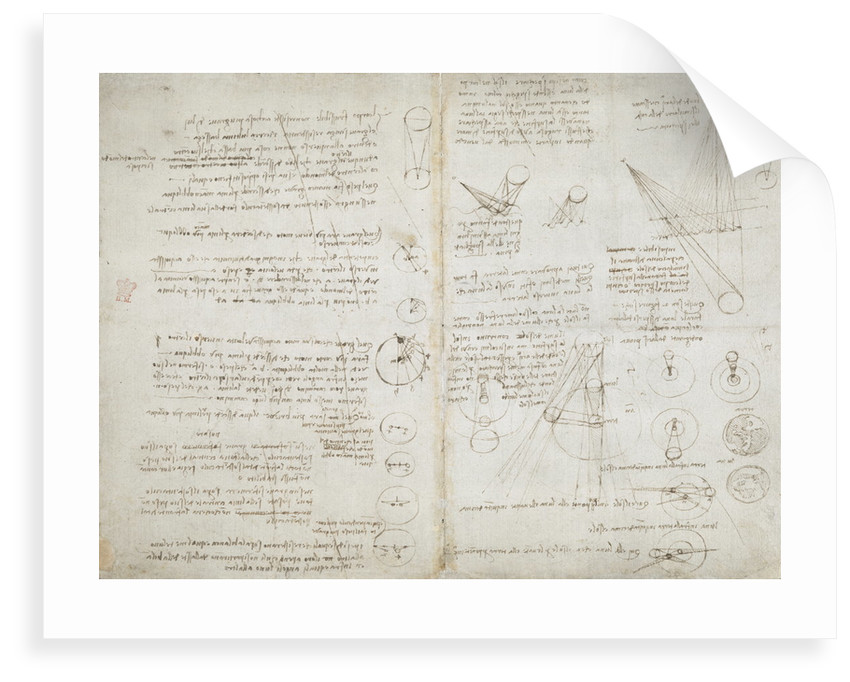 Notebook of Leonardo da Vinci by Leonardo da Vinci