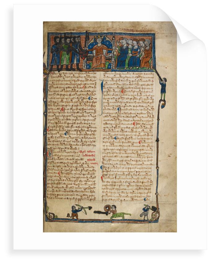 Legal Treatise known as Bracton by Anonymous