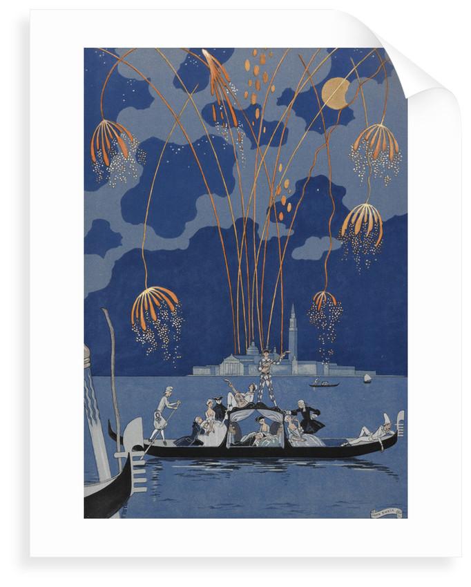 En bateau by George Barbier