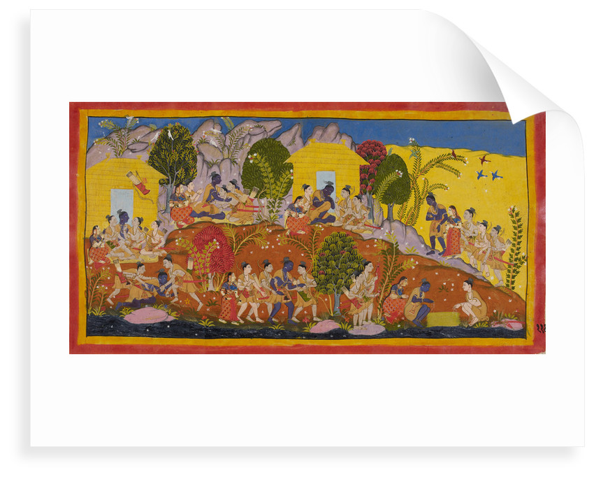 Rama and his brothers reunited by Anonymous