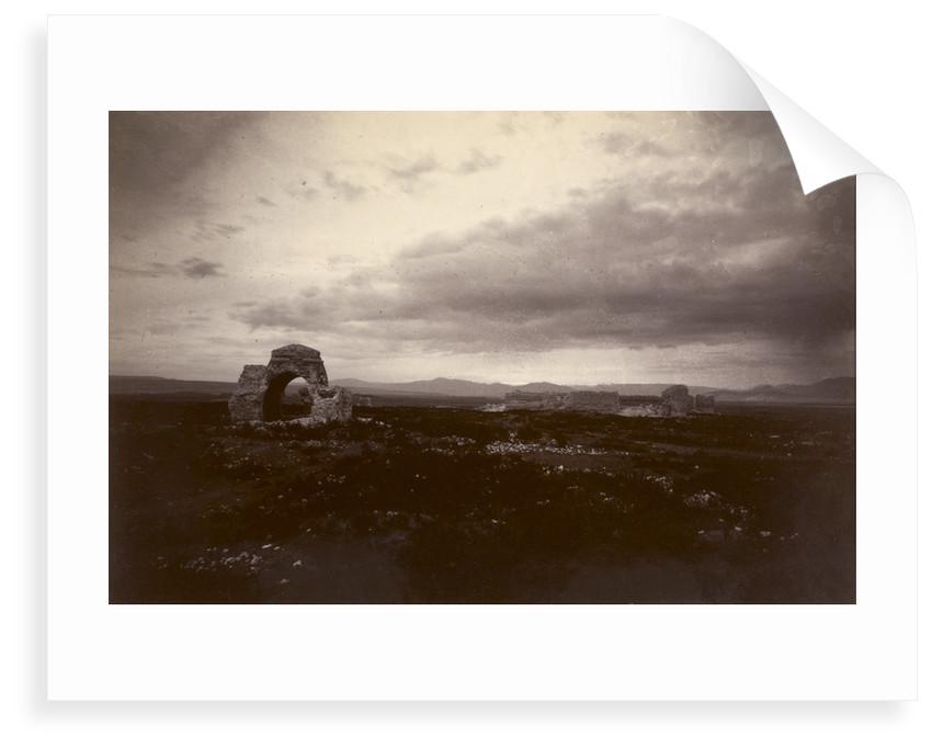 Ruins of Arjish on Lake Van by Herbert Finnis Blosse Lynch