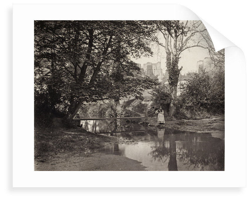 Kenilworth Castle, c. 1863 by Francis Bedford