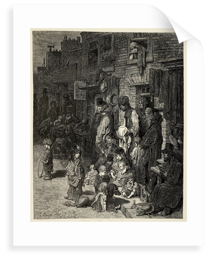 The Poor of London by Gustav Dore