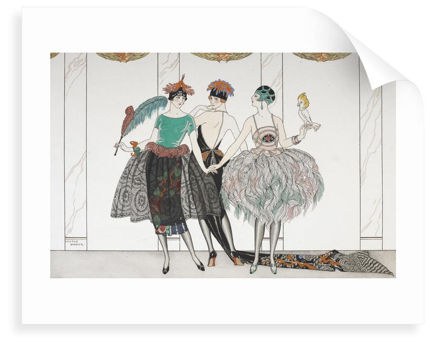 Les Belles Sauvagettes de 1920 by George Barbier