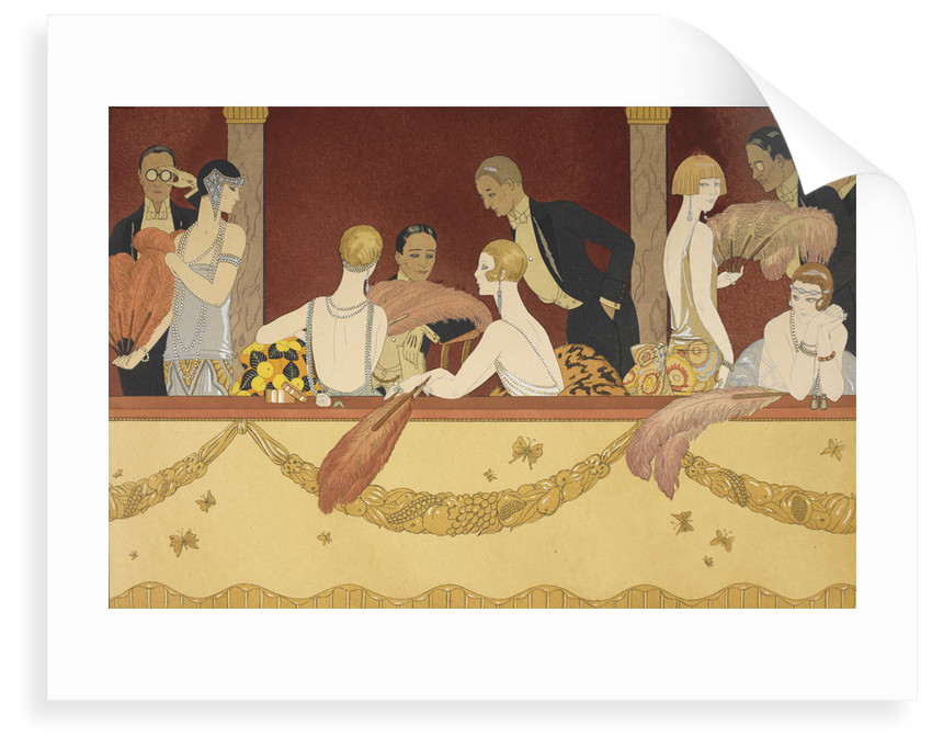 Eventails by George Barbier
