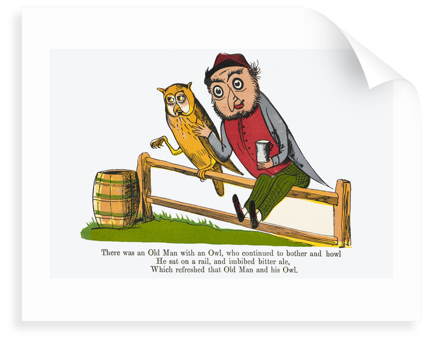 There was an Old Man with an Owl by Edward Lear