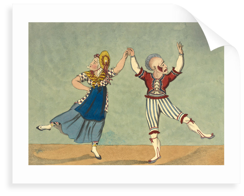 The favourite comic dance by Anonymous