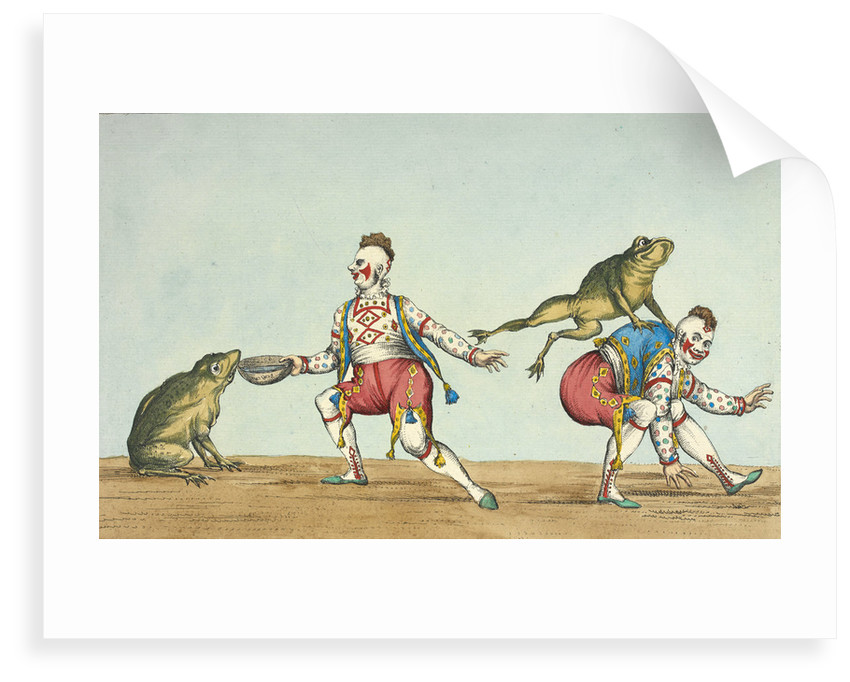 Grimaldi's leap frog by William Heath
