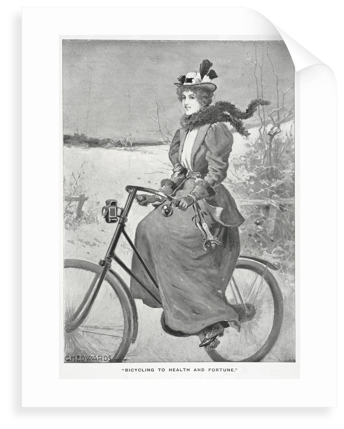 Bicycling to health and fortune by G H Edwards