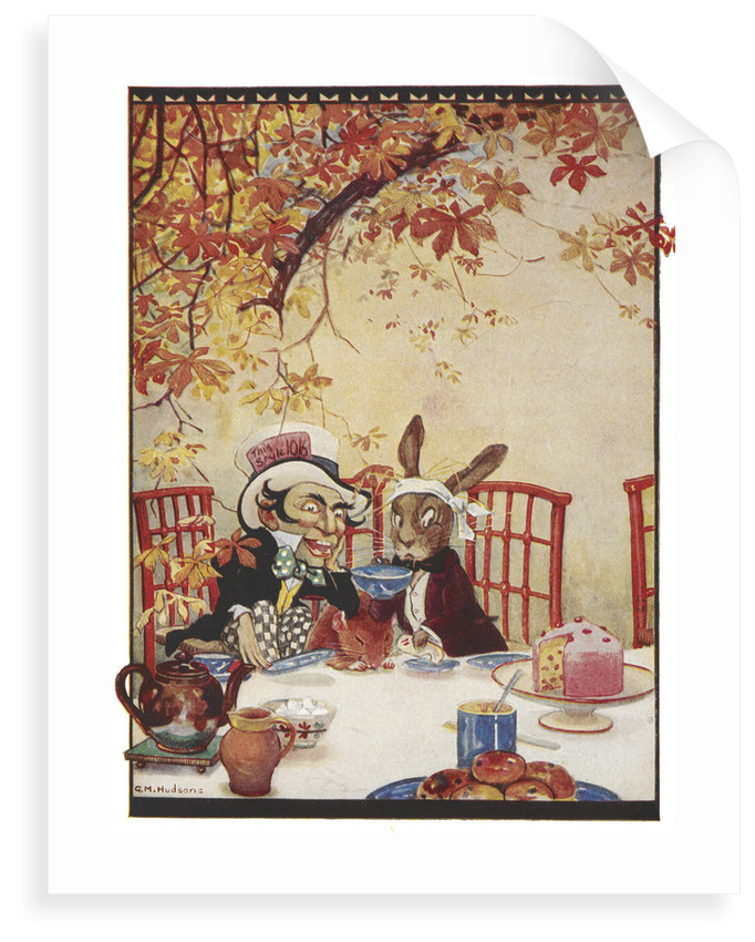 The Mad Hatters Tea Party Posters Prints By Gwynedd M Hudson