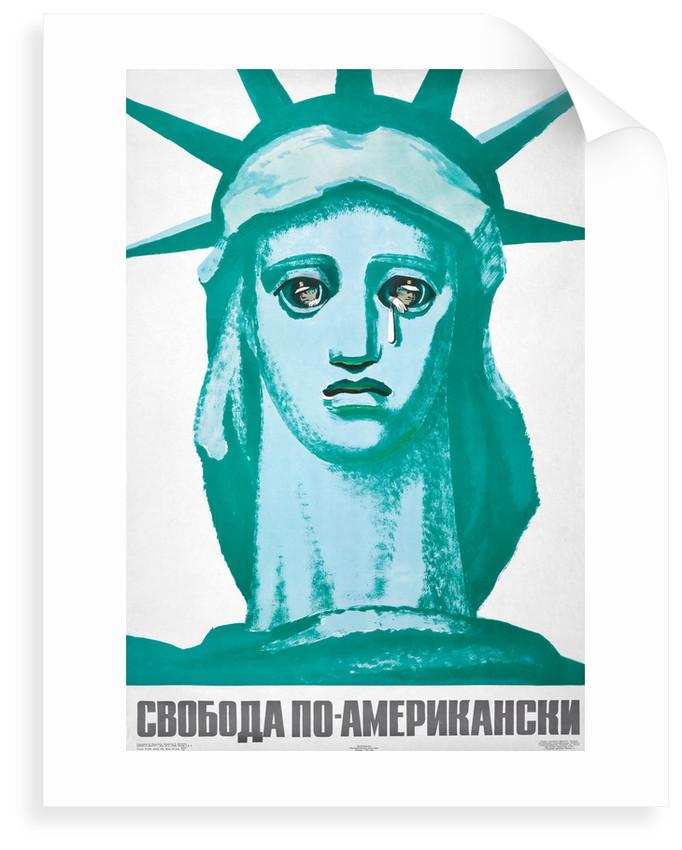 Soviet Liberty (with text) by B Prorokov