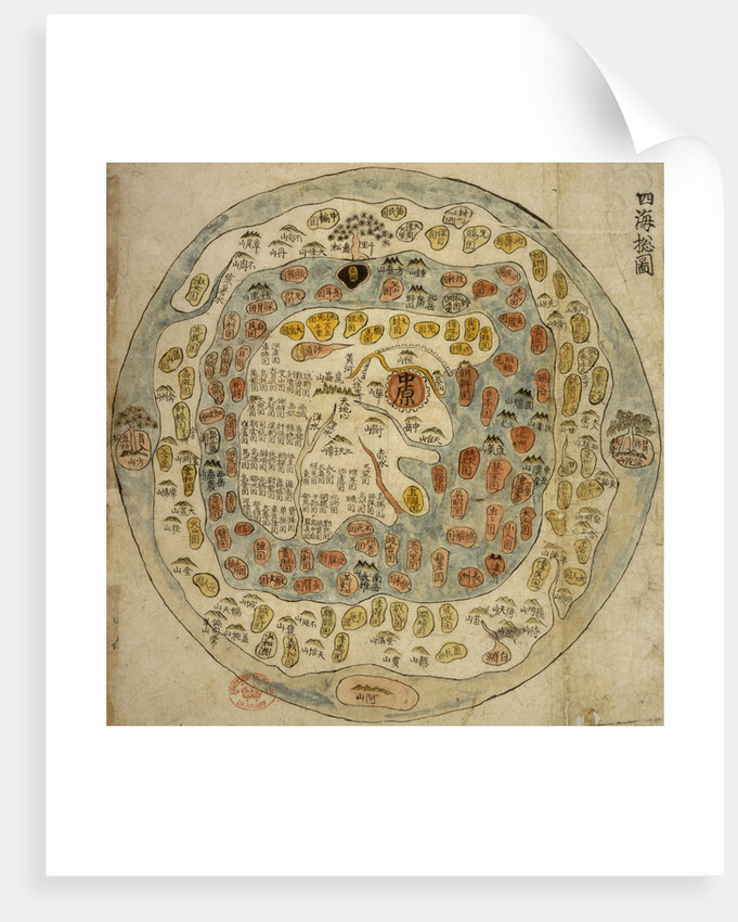 A Korean World Map by Anonymous