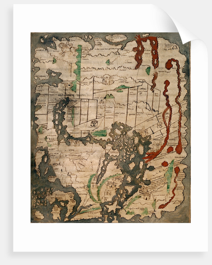 The Tiberius Map by Anonymous