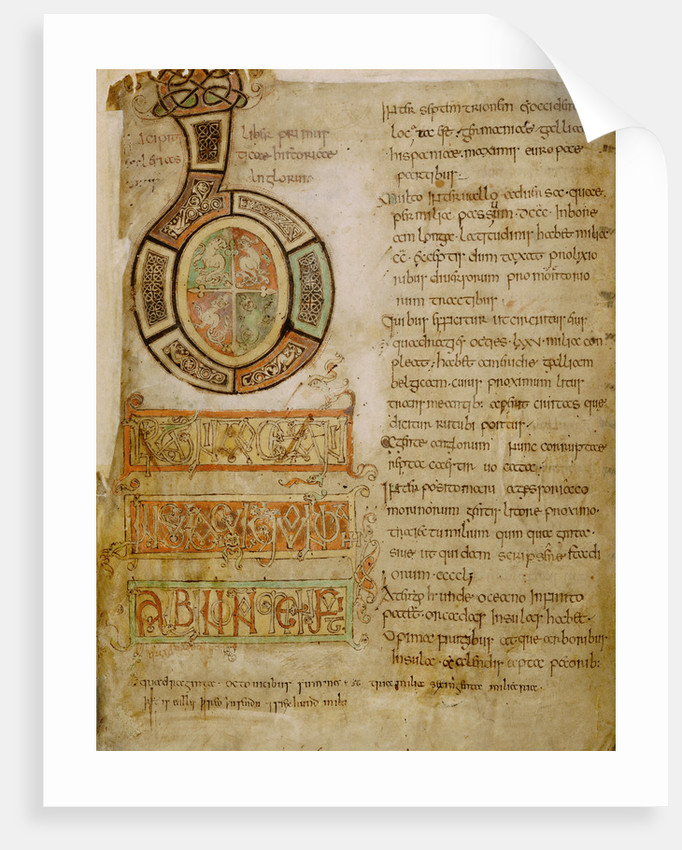 The opening of Bede's History by Bede