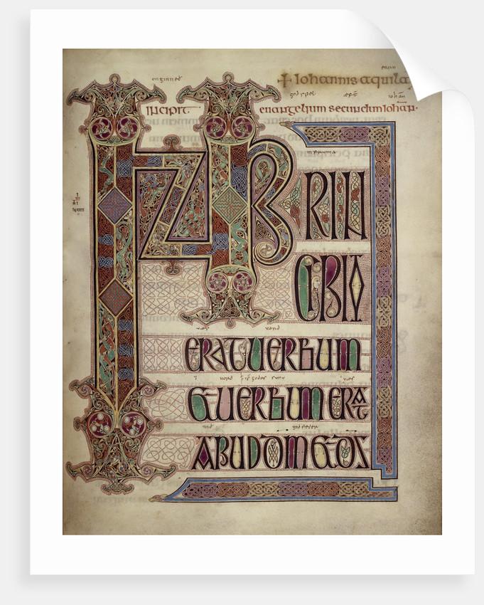Lindisfarne Gospels by Anonymous