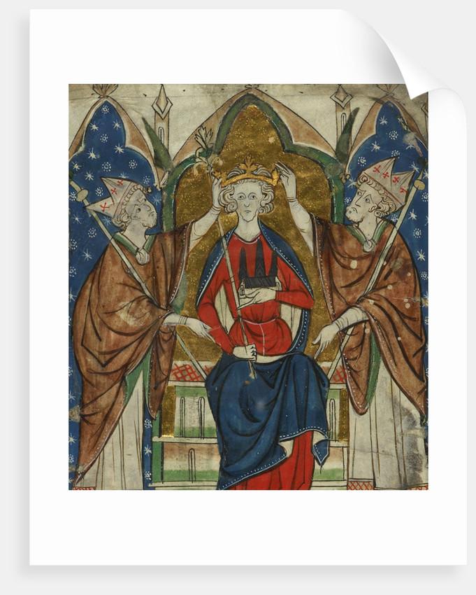 Coronation of Henry III by Anonymous