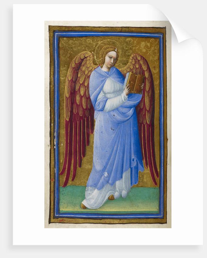 Angel with a book by Belbello da Pavia