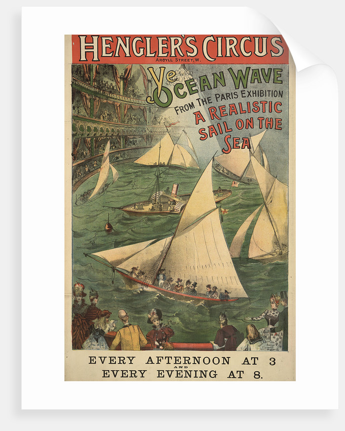 Hengler's circus by Anonymous