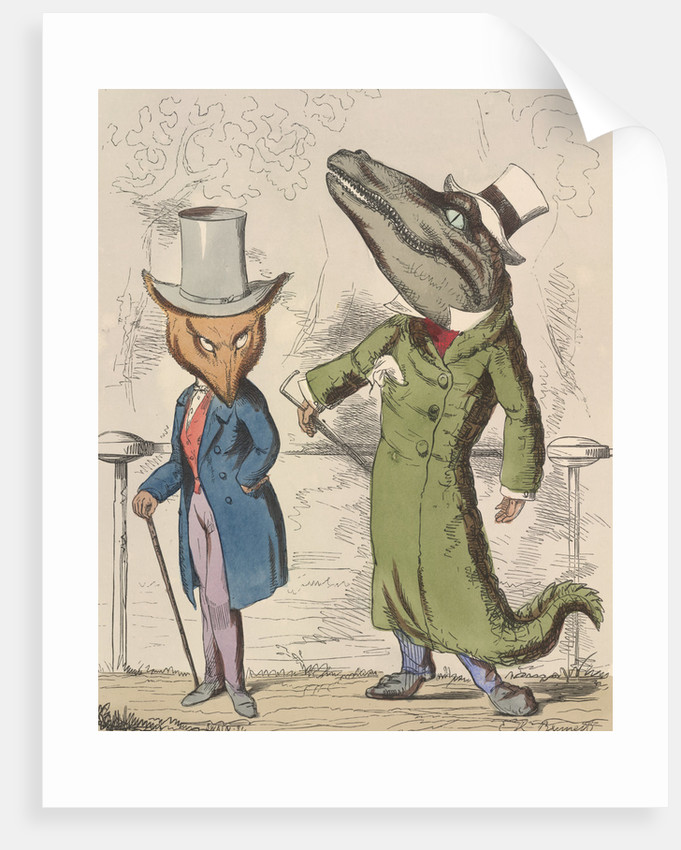 The fox and the crocodile by C H Bennet
