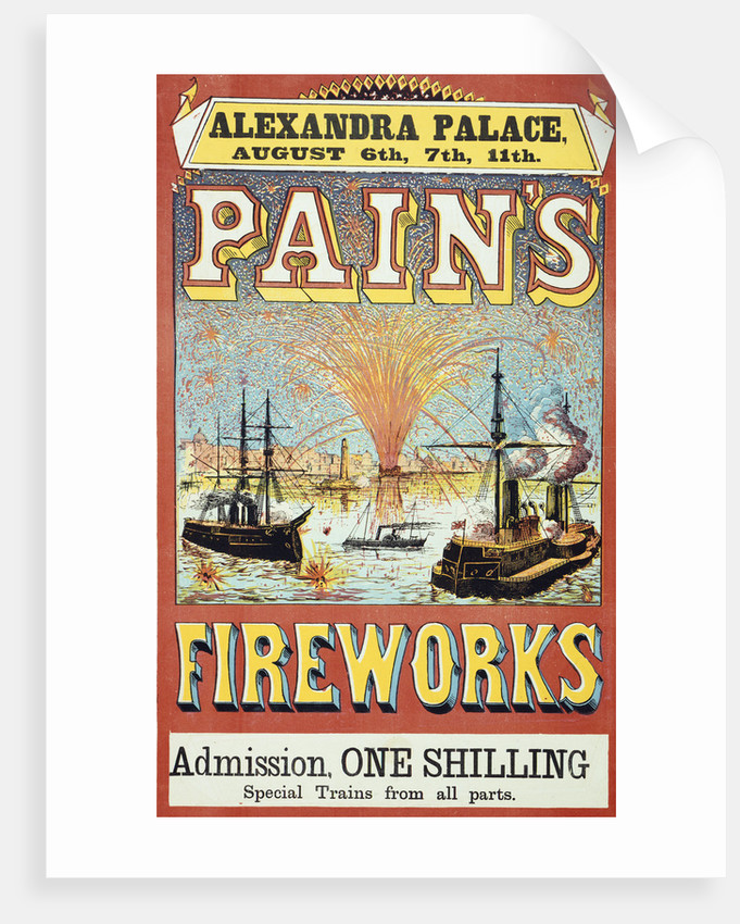Pain's Fireworks by Anonymous
