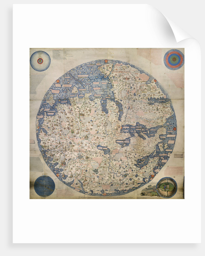 Mappa Mondo by William Frazer