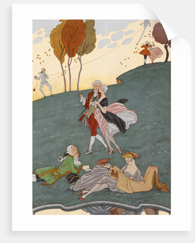 Young love by George Barbier